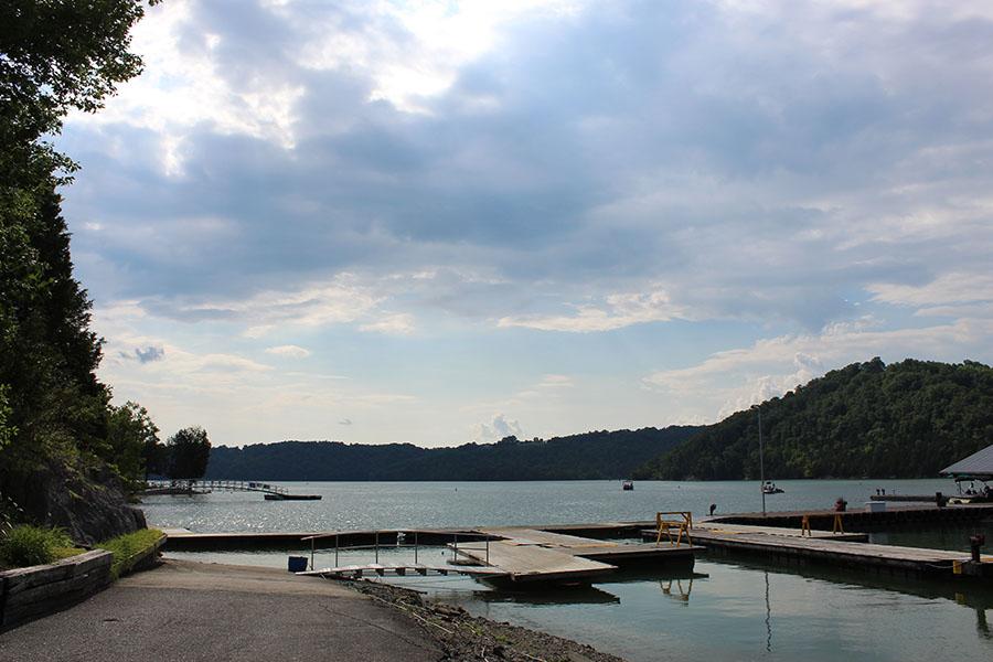 Sunset Marina on Dale Hollow Lake