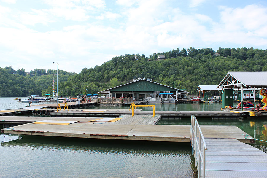 Sunset Marina on Dale Hollow Lake - The Realty Firm