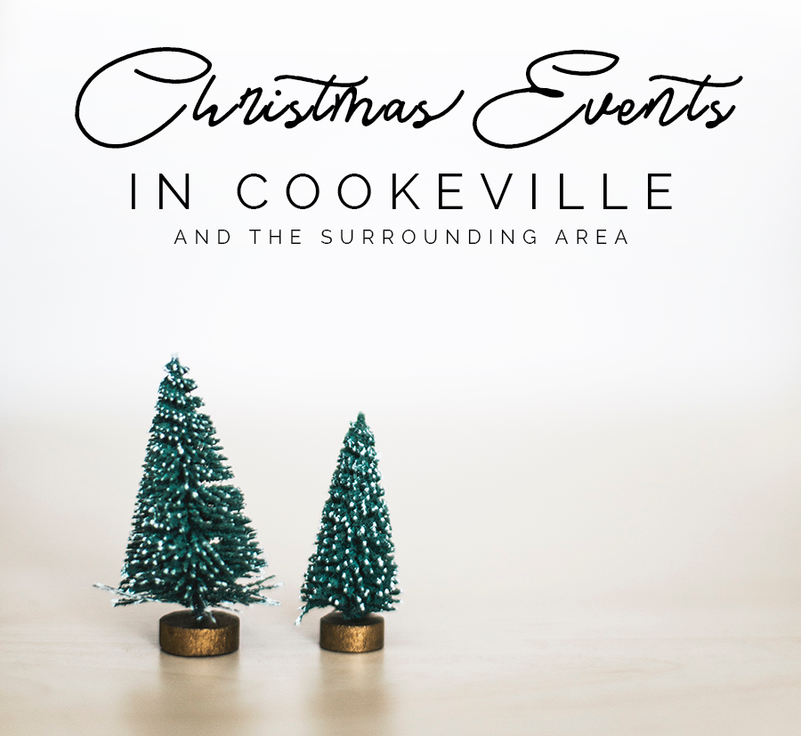christmas events in cookeville tennessee